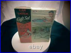 1964 Ideal Motorific Triumph Tr-3 Car And Track Set Brand New In Box #2