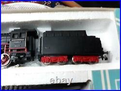 1966 Marklin Ho 3148 Express Train Set Engine-cars-track & Transformer