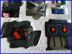1986 Tomy AURORA Nissan Race Set Z-Max Rally #8606 AFX TURBO Slot Cars 28' Track