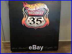 2003 Hot Wheels Highway 35 World Race RLC 36 Car Set With Ultimate Track Set