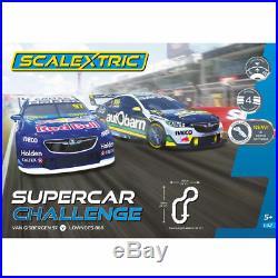 37728 Scalextric Set Supercar Challenge Van Gisbergen V Lowndes Track Cars 132