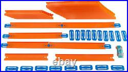 40 Feet Hot Wheels Kids Car Toy Stunt Track and Builder Pack with Racing Play Set