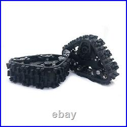 4PC/Set Tracks Wheel Snow Tire Sandmobile Conversion for 1/10 TRAXXAS TRX-4 Car