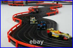 AFX Super International 4-Lane Mega G+ HO Slot Car Track Set withTri-Power