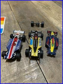 AFX Super International Road Race Set H. O Scale Slot Car Track TOMY 1998