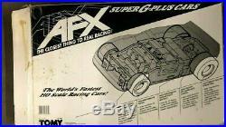 AFX Thunderball 5000 57 AFX & #6 Ford Slot Cars Race Track Set TOMY Super G+
