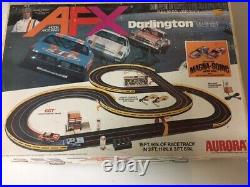 AURORA AFX Darlington Jackie Stewart Slot Car Track