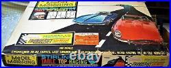 AURORA COMPLETE #1417 T-JET 2 LANE HO Slot Car Race Track Set 2 Cars TYCO AFX