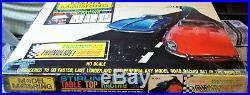 AURORA MODEL MOTORING #1302 T-JET 2 LANE HO Slot Car Race Track Set 2 Cars +Box