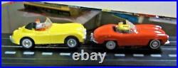 AURORA MODEL MOTORING #1503 VIBRATOR 2 LANE HO SLOT TRACK RACE SET 2 Cars T-JET