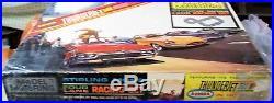 AURORA MODEL MOTORING COMPLETE HO 1317 TJet 4 LANE Slot Car Race Track Set 4 Car