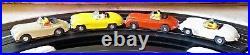 AURORA NICE HO #1505 VIBRATOR VIBE 4 LANE SLOT CAR RACE TRACK SET 4 Cars+ TJET