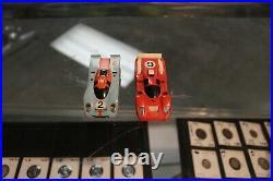 Aurora AFX Racing Electric HO Scale LIGHTED MARATHON Slot Car Race Track Set