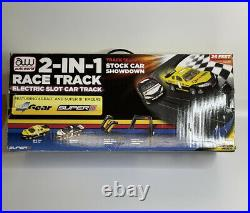 Auto World 2 IN 1 Race Track Electrical Slot Car Track NHRA Pro Racing
