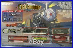 BACHMANN HO CHATTANOOGA NC & STL THE DIXIE LINE TRAIN SET steam engine 00626 NEW