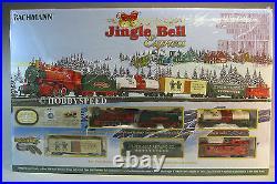 BACHMANN HO JINGLE BELL EXPRESS SET train car ez track engine freight 00724