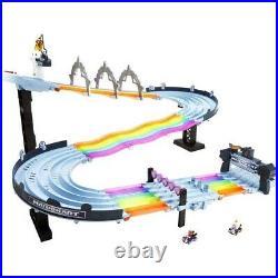 BRAND NEW Hot Wheels Mario Kart Rainbow Road Boo Premier Raceway Track Set OOS