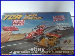 Boxed Vintage Tcr Multi Level Raceway Slot Car Vintage. Rare Set