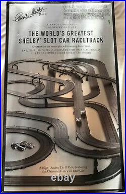 Carol Shelby Slot Car Racetrack Collectors Set, More than 63 feet of track