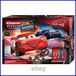 Carrera Go 143 Disney Pixar Cars Neon Lights Slot Car Racing Track Kids Toy 6y+