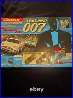 Carrera Go James Bond 007 Die Another Day Slot Car Racing Complete Set