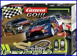 Carrera Rally Up Electric Track Set Cars Kids Racing Play Fun Toy Car Xmas Gift