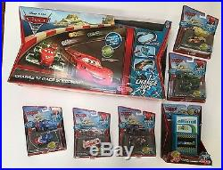 Disney Pixar Cars Charge Ups Charge N Race Speedway Track Charger & Car Set