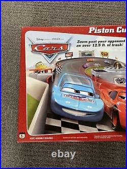 Disney Pixar Cars Piston Cup 500 motorised race set 3.8m track includes McQueen