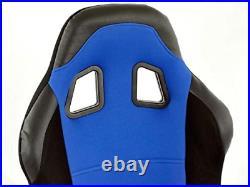 FK Colour Full Bucket Sports Seat Set Kit Track Rally Drift Project Car Custom