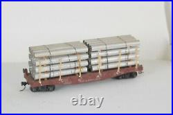 HO scale train set (Freight cars, Passenger cars, Engines and Track)
