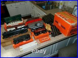 High Grade Lionel 773 1965 # 13150 Complete 7 Car Super O Set With ZW & Tracks