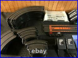 Ho Slot Car AFX Tomy Super International #9939 4 Lane Track Set Complete No Cars
