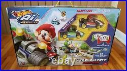 Hot Wheels Ai Mario Kart Set Smart Track Mario & Yoshi Special Edition NEW