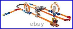Hot Wheels Loops Track Builder Booster Set Matchbox Car Racetrack Kids Toy Cars
