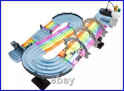 Hot Wheels Mario Kart Rainbow Road Boo Premier Raceway Track Set IN HAND