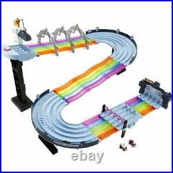 Hot Wheels Mario Kart Rainbow Road Boo Premier Raceway Track Set NEW FREE SHIP