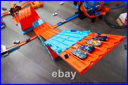 Hot Wheels Racetrack Cast Track Set Matchbox Car Kids Toys Race Crate Family Fun