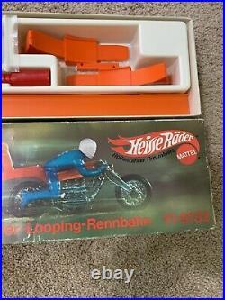 Hot Wheels Redline Rumbler Rrrumbler Lot Heisse Rader Track Set Complete NICE
