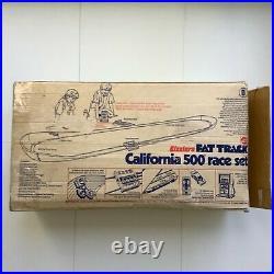 Hot Wheels Redline Sizzlers Fat Track California 500 Set Race Case 4 Car Rainbow