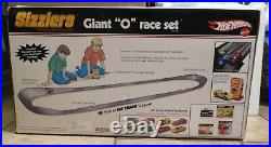 Hot Wheels Sizzlers Giant O Fat Track Race Set From 2006 New In Box Old Stock