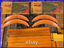 Hot Wheels Vintage Race Track Set Huge Lot Circa1967-69