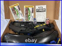 Hot Wheels X-V Racers Daytona 500 Motorized Race Track Super Speedway Set NIOB