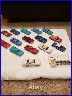 Ideal Motorific Torture Slot Race Track Set Lots Of Cars huge package vintage