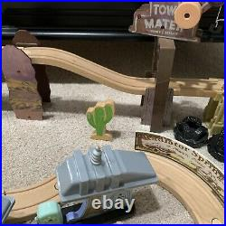 KidKraft Disney Cars Wood Track Set Radiator Springs 78 Pieces Lightning McQueen