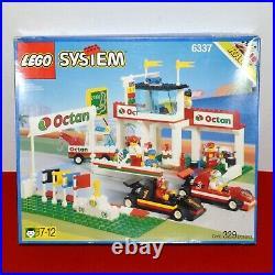 LEGO System 6337 Fast Track Finish Race Car Complete Manual Vintage 1996