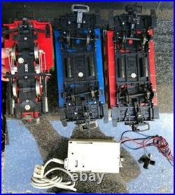 LGB G Scale Starter Set #2774 0-4-0 Locomotive, 2 cars and Transformer / Track