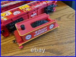 MCDONALD'S Hawthorne Village Bachmann Train Set VTG Caboose Car Engine Track