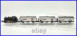 Marklin Z Starter DB Freight Set withAssugrin Reefer Cars (tested) withtrack