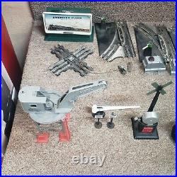 Marx O Guage 1950's Vintage Train Set with Engines, Cars, Track and Accessories