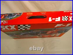 Mattel Hot Wheels Racing SCX Compact Ferrari F1 Formula 1 Slot Car Racing Track